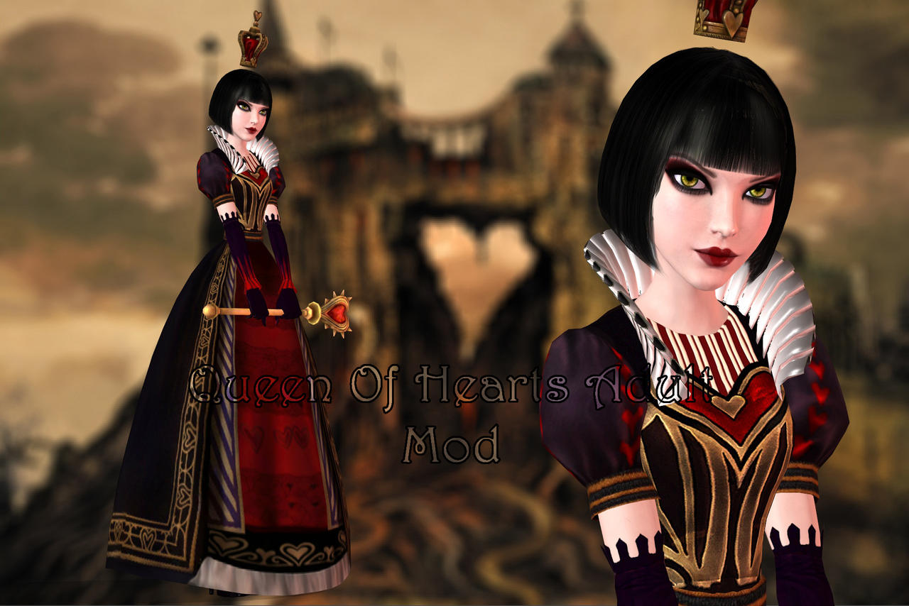 American mcgee alice nude skins