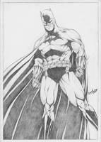 Batman_Pencils by leonartgondim