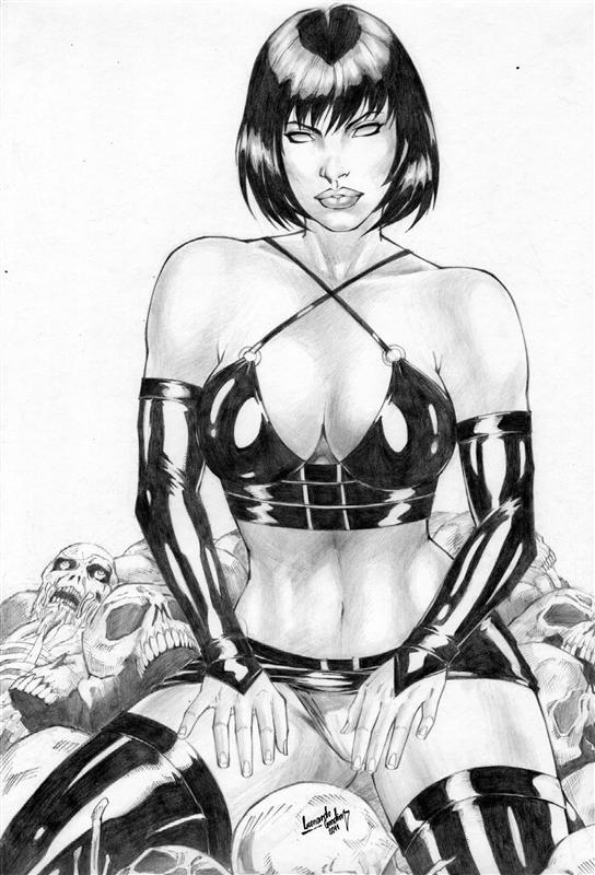 Chastity by leonartgondim on DeviantArt