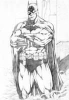 Batman by leonartgondim