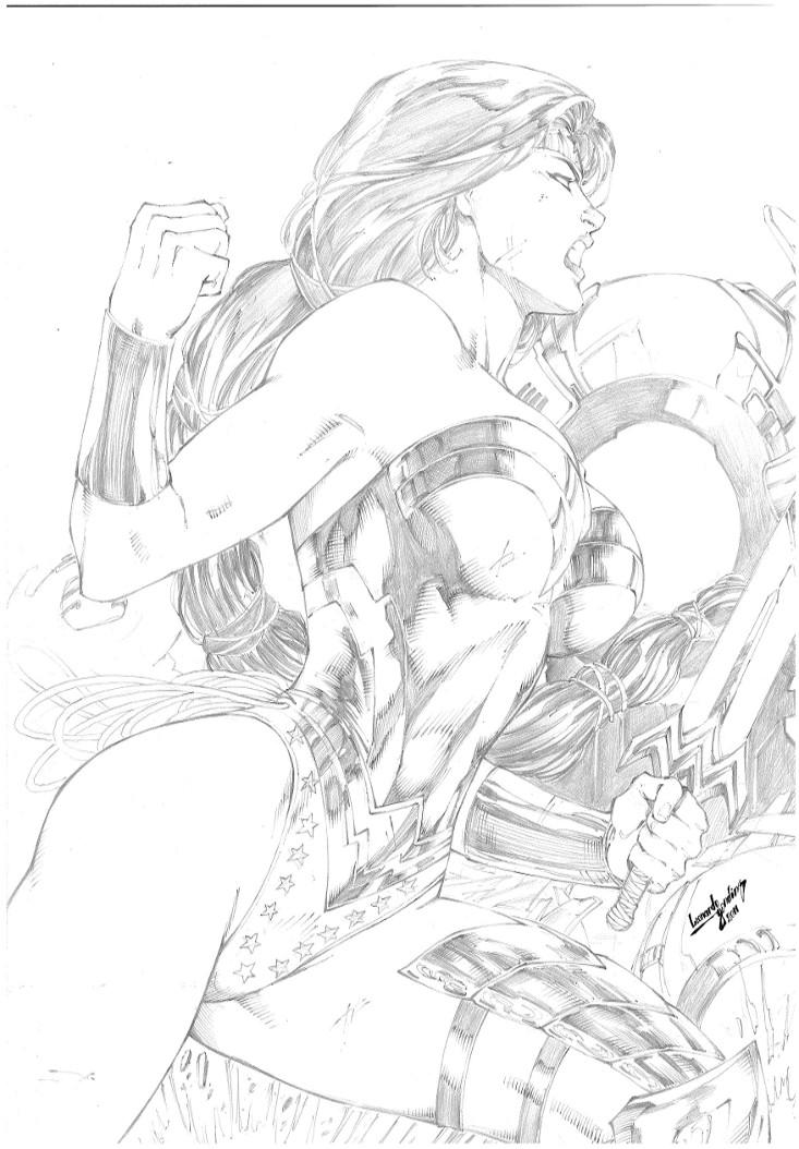 Wonder Woman by leonartgondim