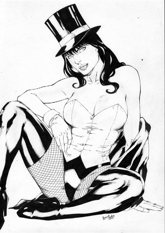 Zatanna Ink by leonartgondim