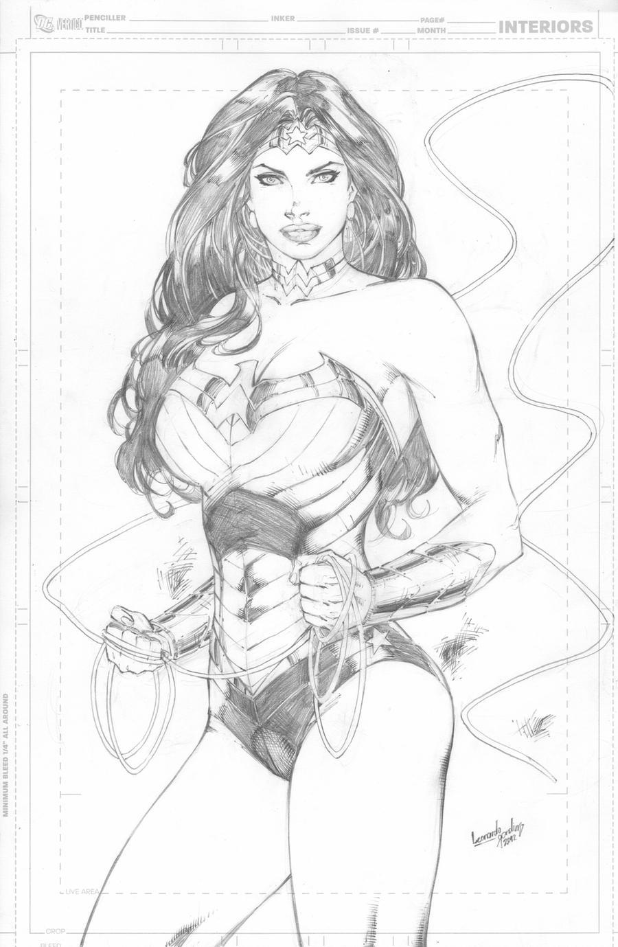 Wonder Woman new costume by leonartgondim