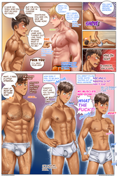 The Underwear Makes the Man -p5- AR Comic by Kibitko