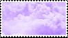 (f2u) lavender clouds by sinnamonstamps