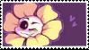 flowey stamp by sinnamonstamps