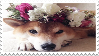 shiba inu stamp by sinnamonstamps