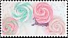 lollipops stamp by sinnamonstamps