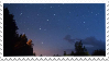 night sky stamp