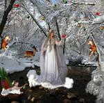 Queen Of Winter Prepares