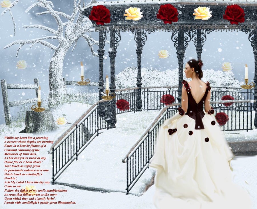 Love's Winter Song by LaColombeDeDeuil