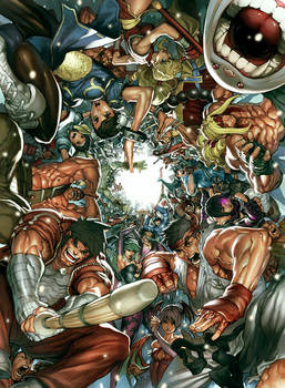 UDON's Art of Capcom 2 Cover