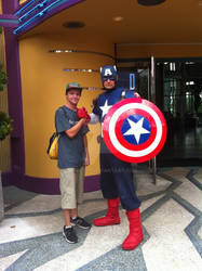 Me and the Cap