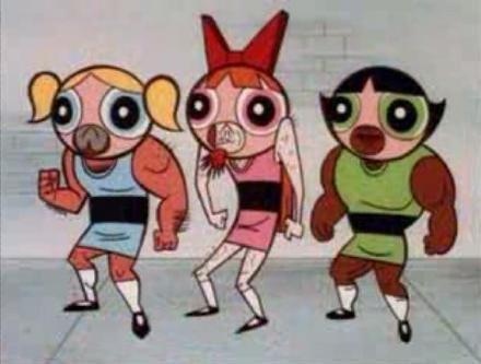 fake powerpuff girls by Guadisaves02