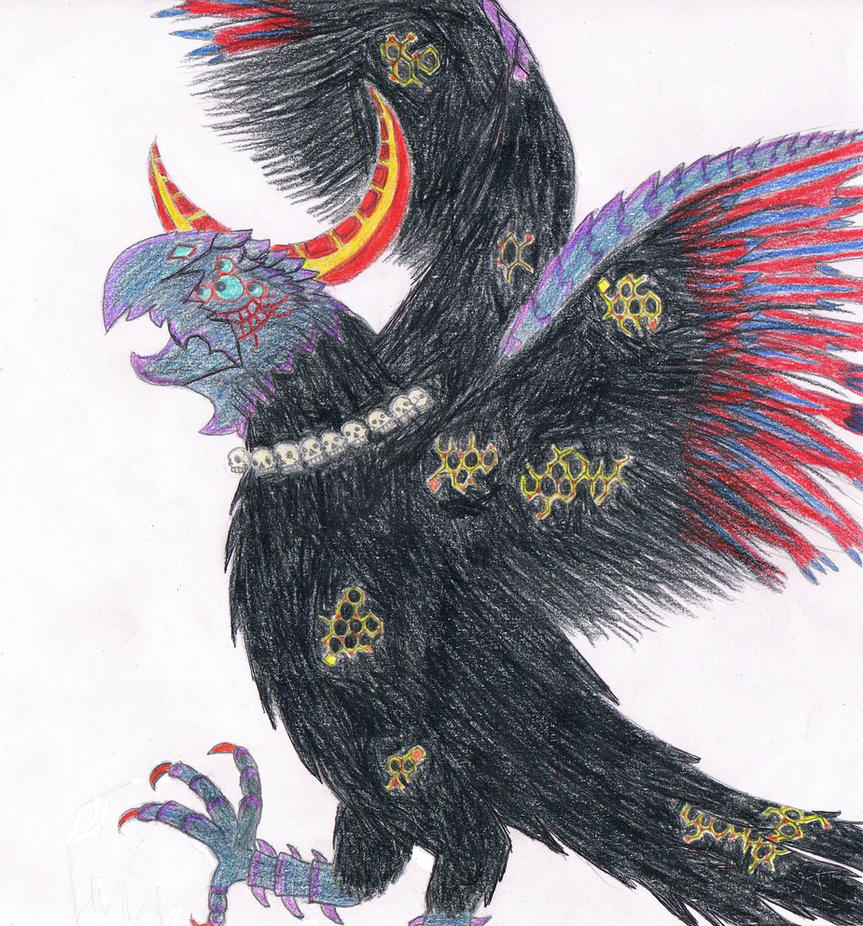 Malphas (Bayonetta) by Guadisaves02