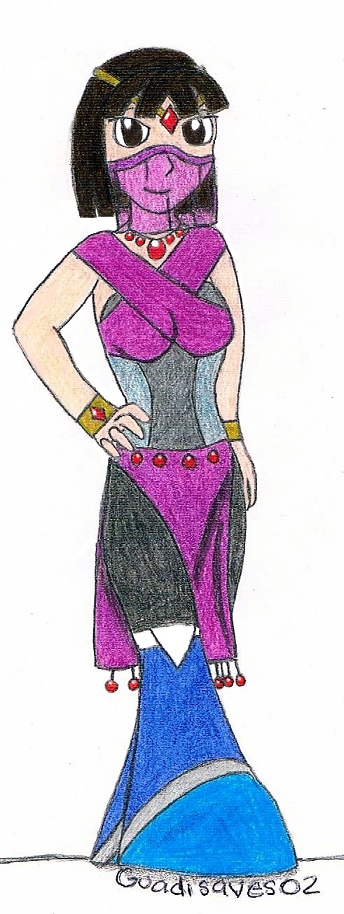 Sophie in Arabian Dress by Guadisaves02