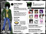 Monster High OC Bio: Sam Yamamura