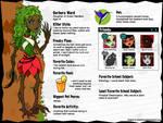 MH OC Profile: Gerbera Ward