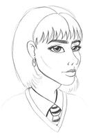Rochelle Hagrid Sketch by ThestralWizard