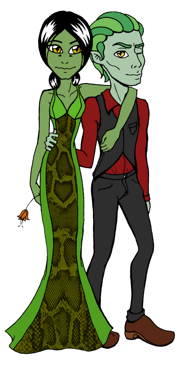 Tehl and Tyler Prom Night by ThestralWizard