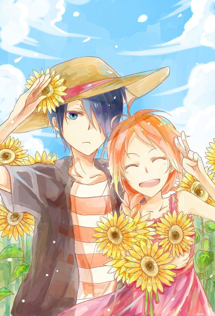 Sunflower - Nijiiro Days by suwan-ssyou