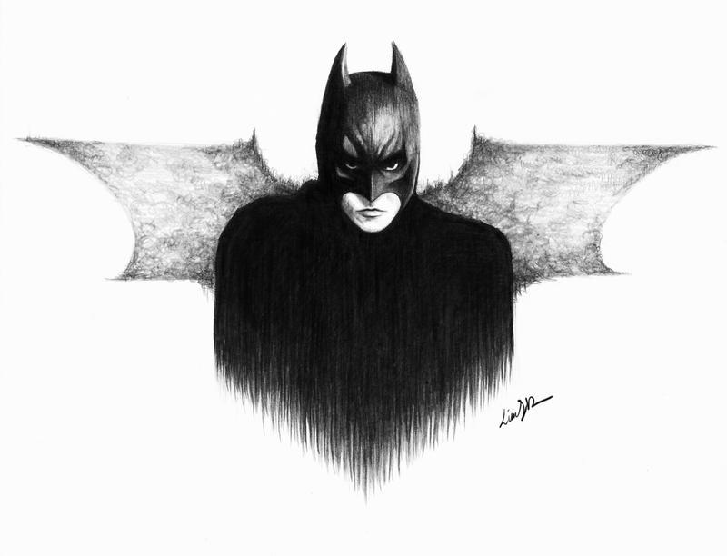 batman sketch by linnsetane on DeviantArt