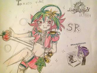 Tomato Vine Flower Knight V