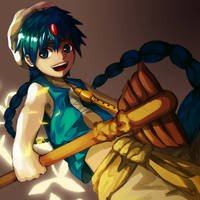 Aladdin by kahmurio
