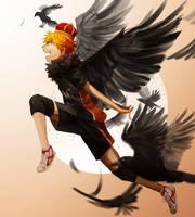 crow by kahmurio