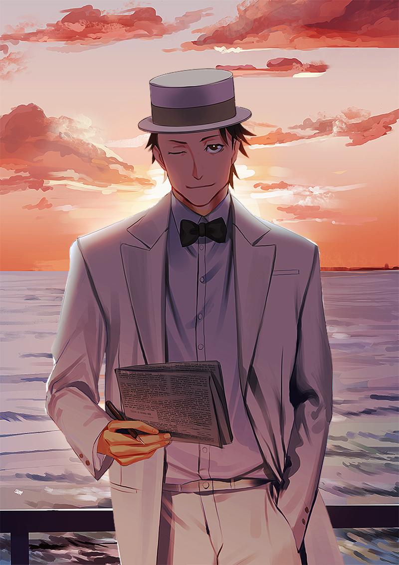 Joker Game / Amari by kahmurio