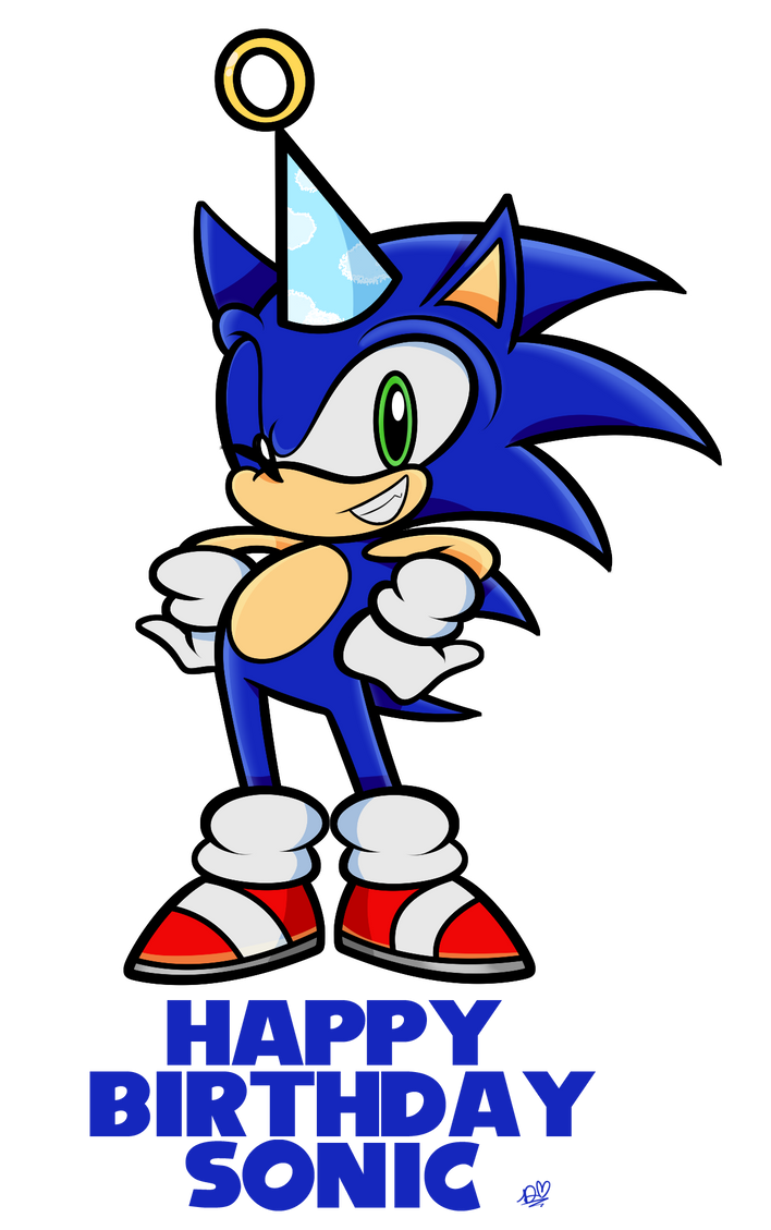 Happy Birthday Sonic! by DuckyDeathly