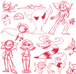 Digital Sketch Dump