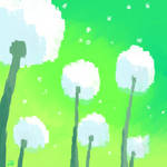 Dandelions by DuckyDeathly