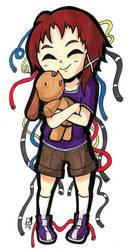 Lain and Bike-chan
