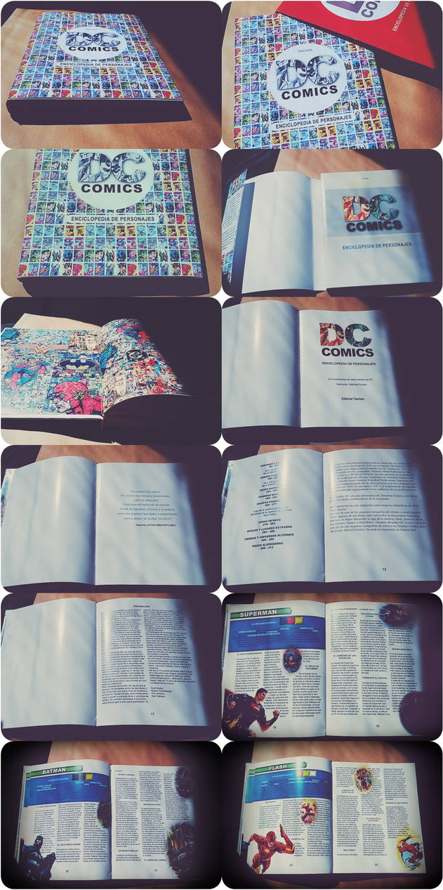 Student project: DC Comics Encyclopedia by g-ivy-ar
