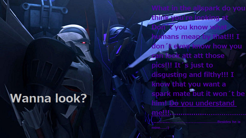 What Soundwave thinks of Yaoi by JETFPLOVE on DeviantArt