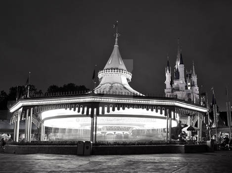 Black and White Carousel