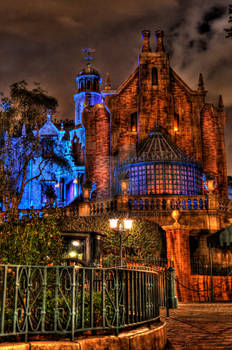 Haunted Mansion HDR
