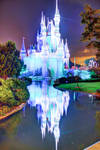 Christmas Castle in Blue