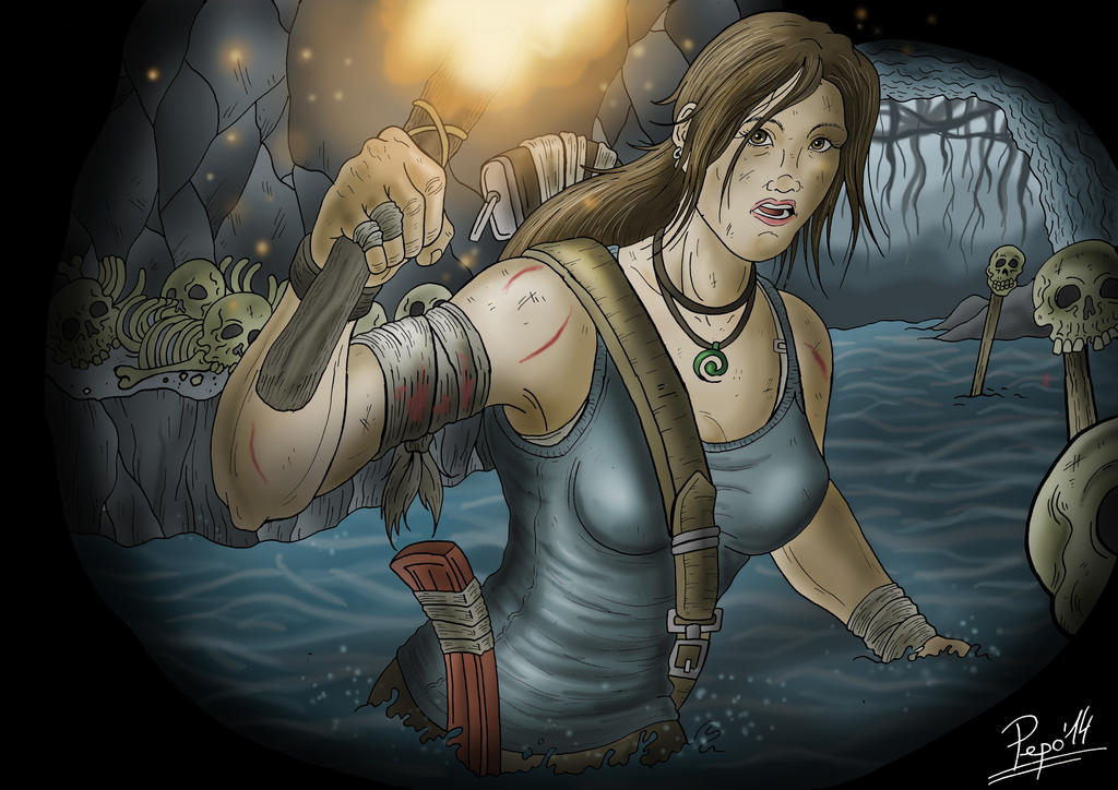 Tomb Raider fanart by Pepowned