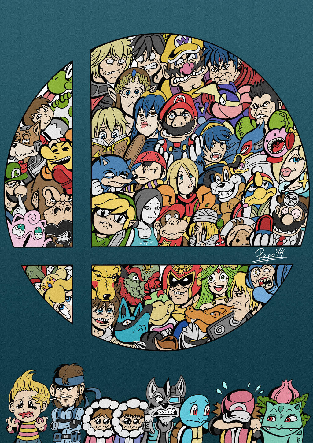 Super smash bros wii u by pepowned on deviantart - Console wii u super smash bros ...
