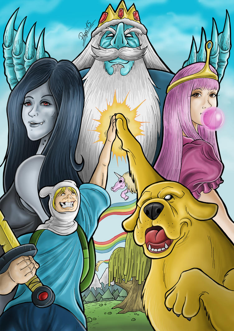 Adventure Time by Pepowned
