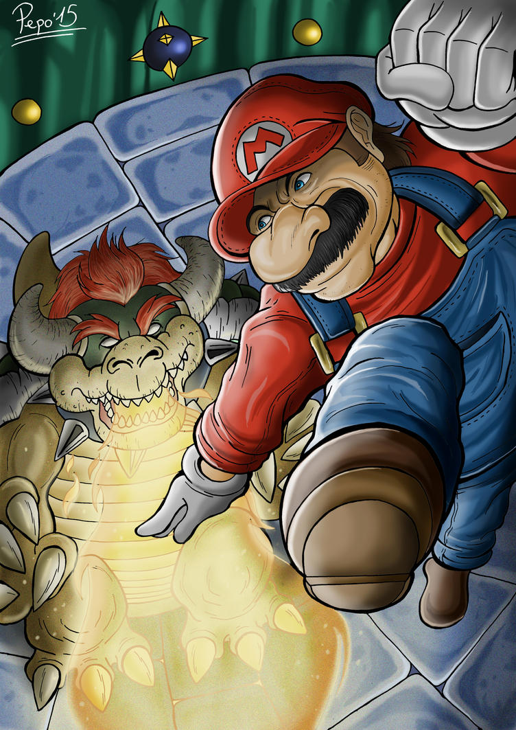 Super Mario 64 by Pepowned