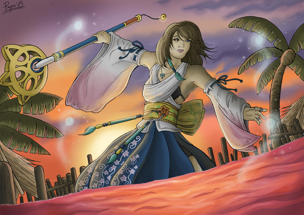 Yuna Final Fantasy X by Pepowned
