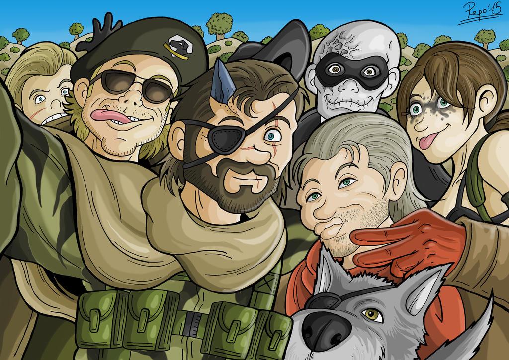 Metal Gear Solid V Selfie by Pepowned