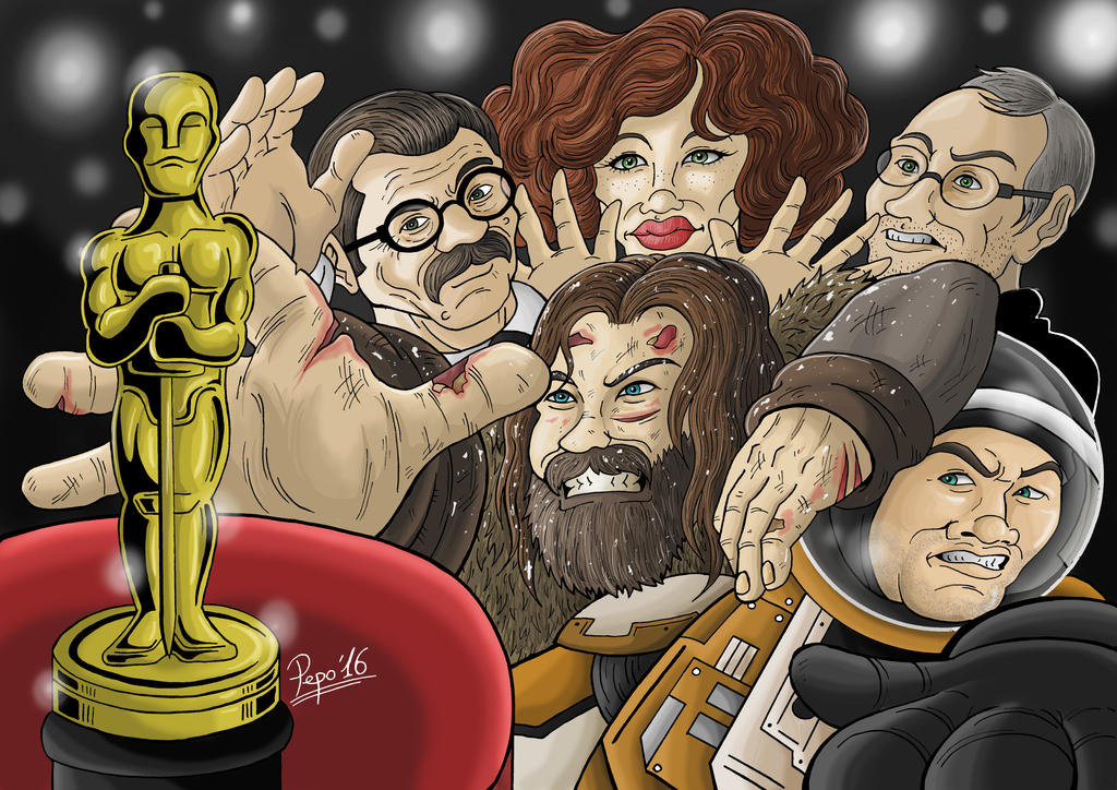 And the Oscar goes to... by Pepowned