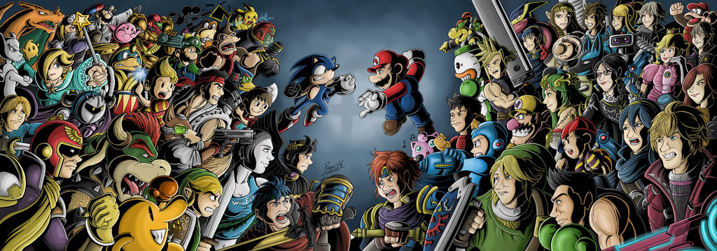 Smash Bros Xxl by Pepowned