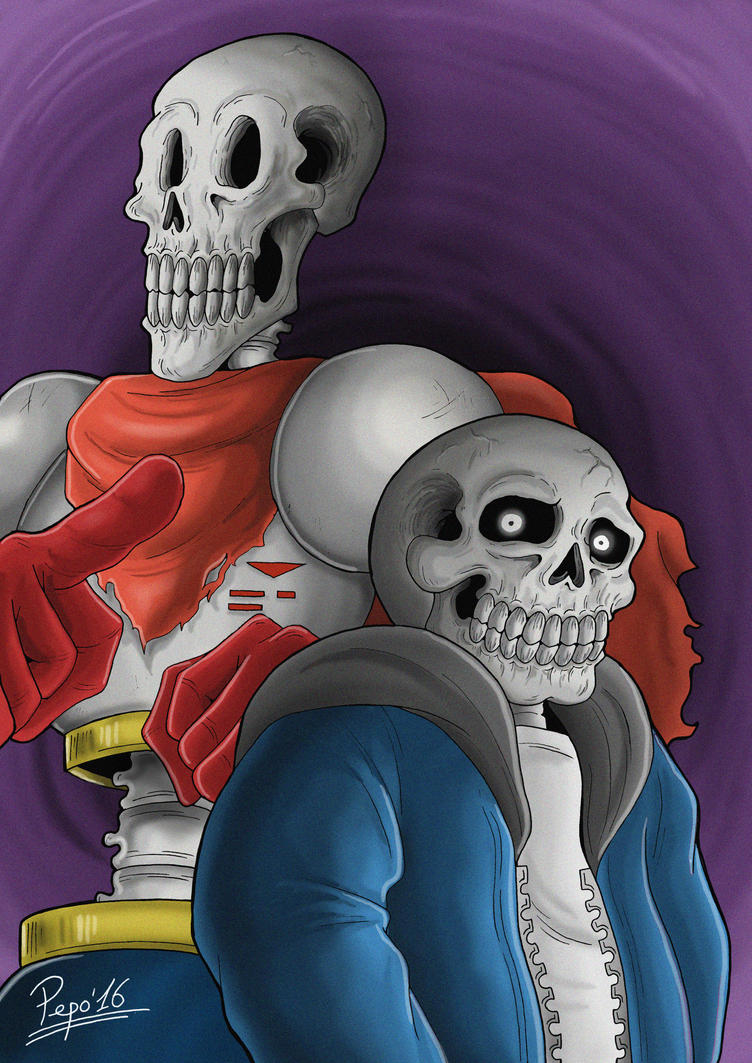 Papyrus  Sans Undertale by Pepowned