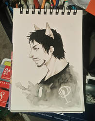 Cat Tony by Rock-Monster