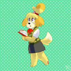 Dog Secretary by burntbeebs